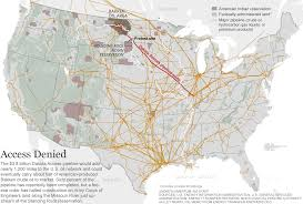 American Route Map by Meet The Native Americans On The Front Lines Of A Historic Protest
