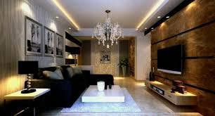 best living room ideas modern chandelier above black furniture sofa set flat table in