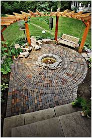 Easy Backyard Landscaping Ideas by Backyards Cozy Simple Backyard Fire Pit Easy Outdoor Fire Pit
