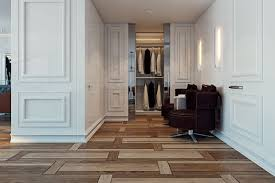 creative wood flooring interior design ideas