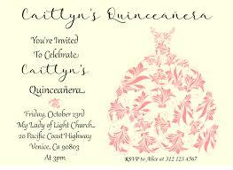 quinceanera invitation sweet sixteen invitation