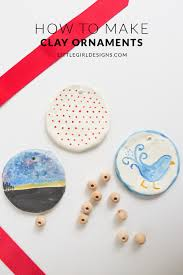how to make clay ornaments designs by jennie moraitis
