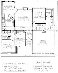 3 bedroom house plans one 100 3 bedroom house plans one best 25 single level
