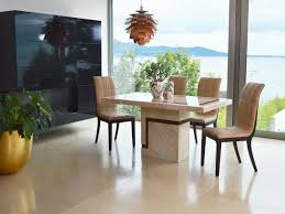 marble 160cms dining table u0026 four chairs