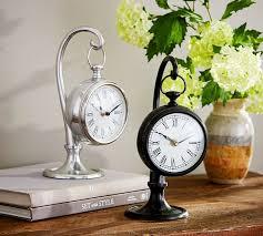 Small Desk Clock Pendant Clock Pottery Barn