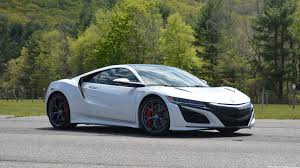 Acura Nsx Power First Drive 2017 Acura Nsx
