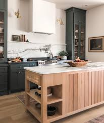 green kitchen cabinets with white island design trend green kitchen cabinets
