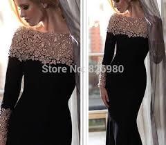 evening wedding guest dresses aliexpress buy black evening dresses 2017 lace