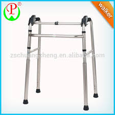 elder walker aluminum folding handicapped equipment elderly walker crutches
