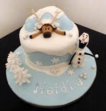 olaf birthday cake cake ideas