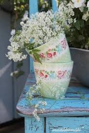 Shabby Chic Flower Pots by 33 Best Flower And Garden Pots Images On Pinterest Flower Pots