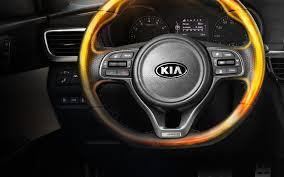 kia steering wheel 2018 kia optima interior design and comfort features