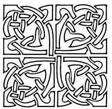 celtic designs mosaic coloring pages 25593 bestofcoloring