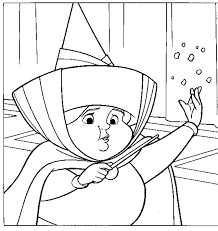 merryweather coloring pages printable gif 671 710 pixels wizard