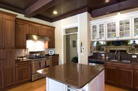 two toned kitchen cabinets with black cabinets laredoreads