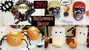 Crafty Halloween Decorations Diy Halloween Decorations Collab With Karina Garcia Youtube