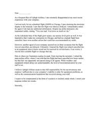 airline complaint letter png