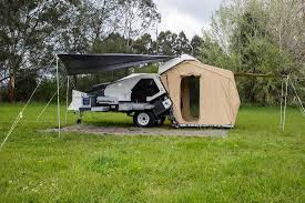 Just Kampers Awning Tvan Camper Trailer The Original Off Road Camper Trailer Hybrid