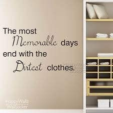 popular laundry wall decor buy cheap laundry wall decor lots from the most memorable days quote wall sticker laundry quote wall decal removable wall decoration vinyl wall