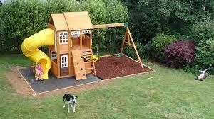richmond lodge climbing frame tube slide swings u0026 cubby house