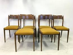 Italian Dining Room Table Mid Century Italian Dining Chairs 1950s Set Of 6 For Sale At Pamono