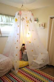Diy Canopy Bed With Lights Fashionable Idea Diy Canopy Bed Tent With Lights Curtain Rods