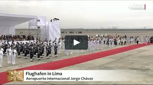 Lima Flag Papst Franziskus In Peru Papst Franziskus In Peru