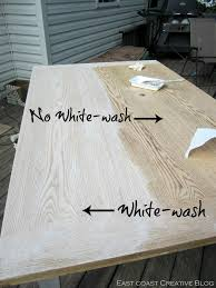 How To Refinish A Dining Room Table East Coast Creative Refinished Dining Room Table Furniture