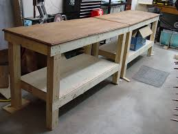 how to build a diy workbench startwoodworking com