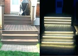 Step Lights Led Outdoor Led Stair Lighting 2 Led Stair Lighting Strips Winterminal Info