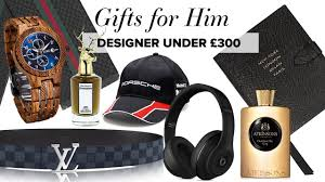 designer christmas gift guide for him boyfriend husband dad