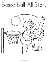 sport coloring pages twisty noodle