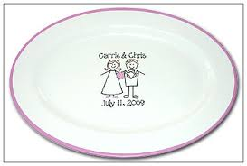 wedding signing plate wedding guest signature platter serendipity crafts