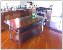 kitchen work table island folding kitchen island work table home design ideas