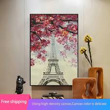 aliexpress com buy diy 5d diamond painting full drill the eiffel