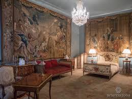 french bedroom of viana palace córdoba