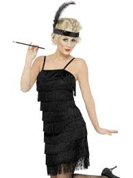 1920 s fringed flapper dress