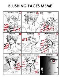 Blush Meme - naruto blush meme by sirohikari on deviantart
