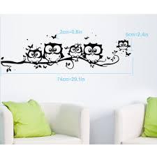 tripleclicks tree owl butterfly wall stickers sold eca