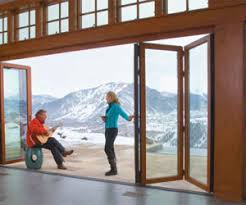 Patio Doors Folding Up Your Living Room With Folding Patio Doors