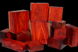 Exotic Colors by Exotic Wood Borneo Rosewood Emanating From Asia This Unique