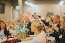 wedding toast in the mix events the must for a wedding toast