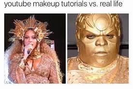 No Makeup Meme - makeup tutorials hysterically funny makeup quotes and memes