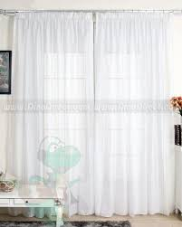 Pinch Pleated Semi Sheer Curtains Pinch Pleated Sheer Curtains White Rooms