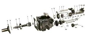 willys jeep t 84 transmission parts for 1941 45 mb gpw