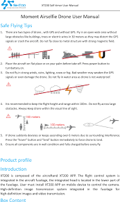 xt200 moment airselfie drone user manual shenzhen simtoo