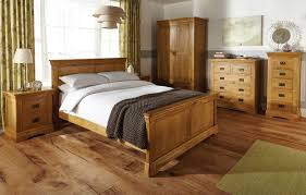 Oak Wood Furniture Oak Bedroom Furniture For Added Glory Of Pure Wood