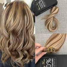 sewn in hair extensions balayage sew in weft humanhair bundles hair sunnyhair