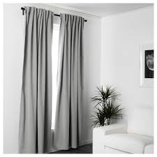Ikea Curtain Length Majgull Blackout Curtains 1 Pair Ikea