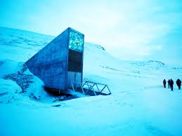 svalbard global seed vault floods permafrost melts wired